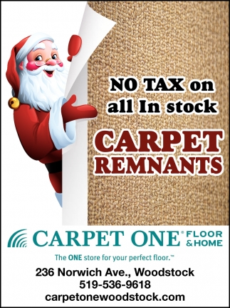 No Tax On All In Stock Carpet Remnants