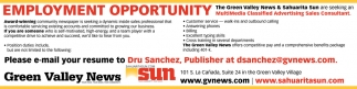 MultiMedia Classified Advertising Sales Consultant