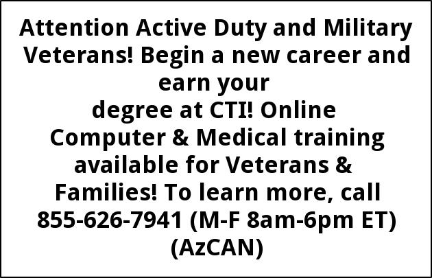 Attention Active Duty and Military Veterans!