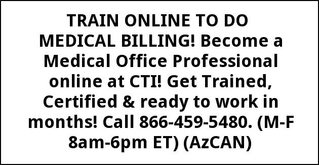 Train Online to Do Medical Billing!