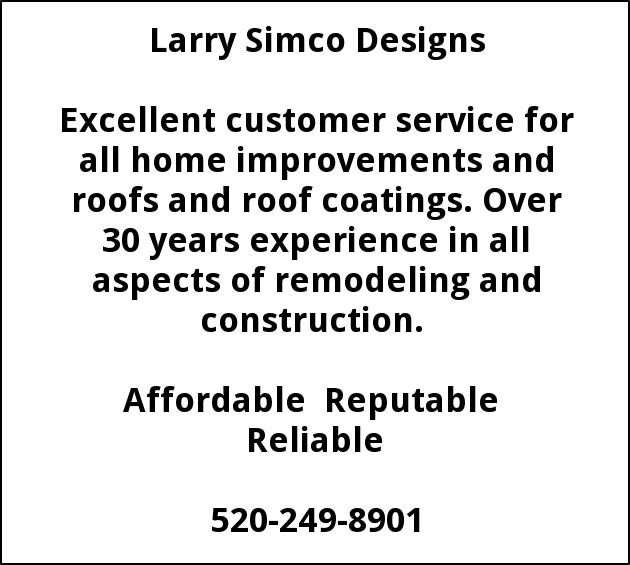 Excellent Customer Service Larry Simco Designs