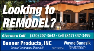 Looking to Remodel?