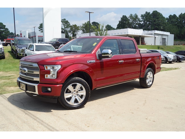 Used 2017 Ford F-150 Platinum 4x4 Supercrew Cab Stylesid 4x4 Platinum SuperCrew 5.5 ft. SB 8 Cylinder in Oxford, MS