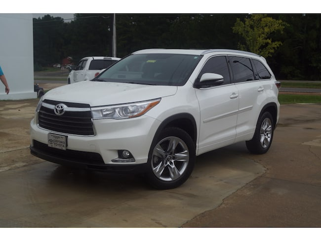 Used 2016 Toyota Highlander Limited V6 Front-Wheel Drive Limited SUV 6 Cylinder in Oxford, MS