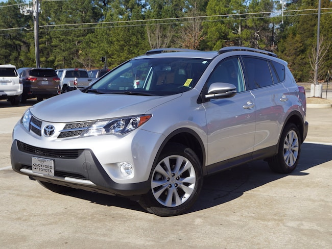 Used 2015 Toyota RAV4 Limited Front-Wheel Drive Limited SUV 4 Cylinder in Oxford, MS