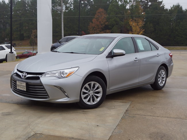 Used 2017 Toyota Camry LE Sedan LE Sedan 4 Cylinder in Oxford, MS