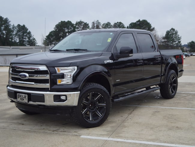 Used 2016 Ford F-150 Lariat 4x4 Supercrew Cab Styleside 4x4 Lariat SuperCrew 5.5 ft. SB 6 Cylinder in Oxford, MS