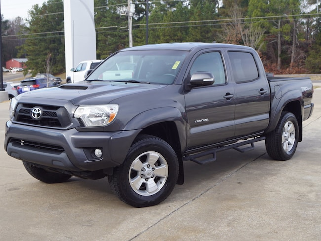 Certified Pre-Owned 2014 Toyota Tacoma Prerunner V6 4x2 Double Cab 127.4 i 4x2 PreRunner V6 Double Cab 5.0 ft SB 5A 6 Cylinder For Sale Oxford, MS
