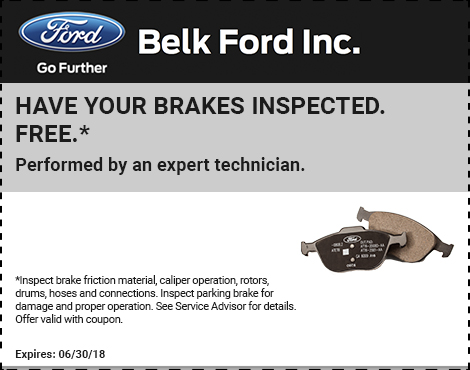 Have Your Brakes Inspected