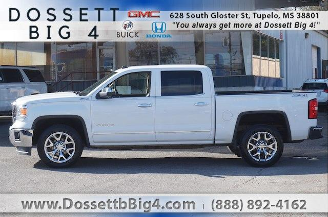 Pre-Owned 2014 GMC Sierra 1500 Crew Cab Short Box 4-Wheel Drive SLT
