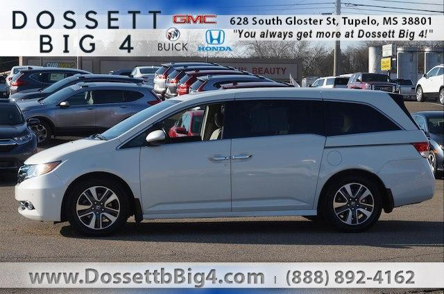 Pre-Owned 2016 Honda Odyssey Touring with DVD Rear Entertainment System and Navigation