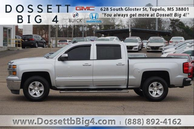 Pre-Owned 2015 Chevrolet Silverado 1500 Crew Cab Short Box 2-Wheel Drive LT