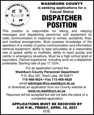Dispatcher Position