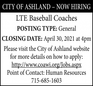 LTE Baseball Coaches