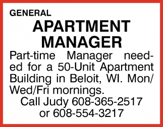 Apartment Manager