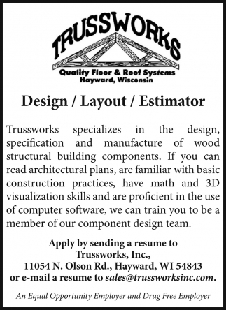 Design/Layout/Estimator