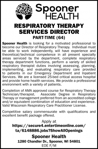 Respiratory Therapy Services Director