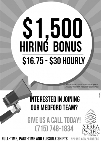 Interest In Joining Our Medford Team?