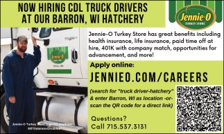 CDL Truck Drivers