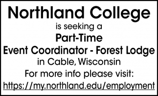 Part-Time Event Coordinator