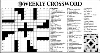 Weekly Crossword