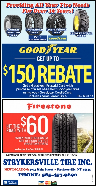 Providing All Your Tire Needs For Over 39 Years!