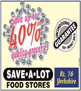 Save 40% On Quality Groceries