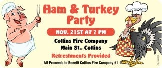 Ham & Turkey Party
