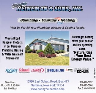 Plumbing - Heating - Cooling