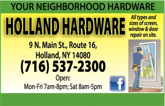 Your Neighborhood Hardware