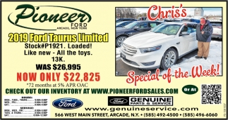 Valentines Special  Ford Taurus Limited