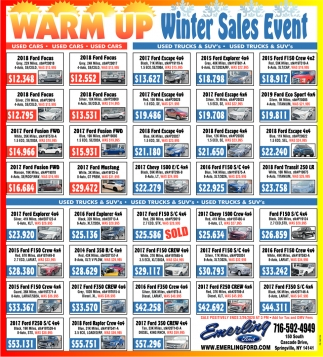 Warm Up Winter Sales