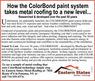 How The ColorBond Paint System Takes Metal Roofing To A New Level
