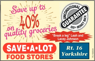 Save Up To 40% On Quality Groceries