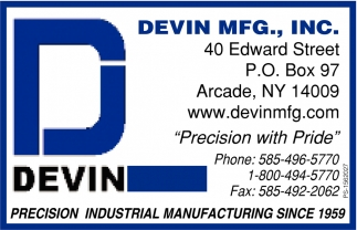 Precision Industrial Manufacturing Since 1959