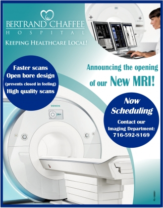 Announcing The Opening Of Our New MRI!