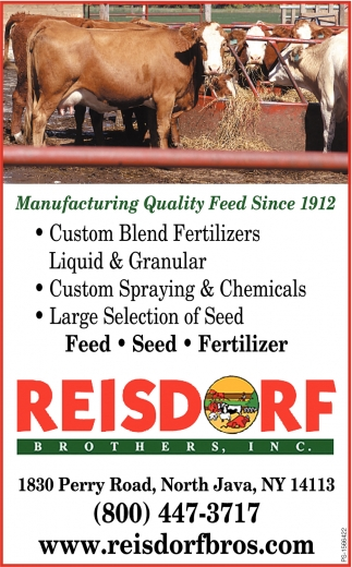 Manufacturing Quality Feed Since 1912
