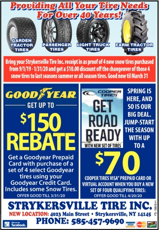 Providing All Your Tire Needs For Over 40 Years!