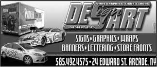Vinyl Graphics Signs & Logos