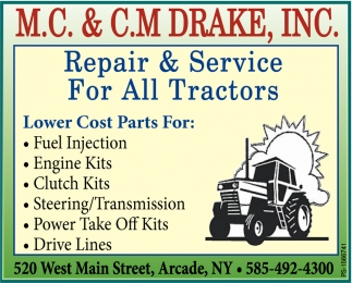 Repair & Service For All Tractors