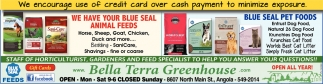 We Have Your Blue Seal Animal Feeds