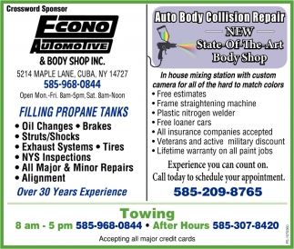Auto Body Collision Repair