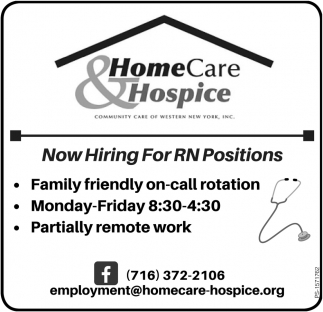 Now Hiring For RN Positions