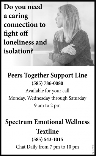 Do You Need A Caring Connection to Fight Off Loneliness And Isolation?
