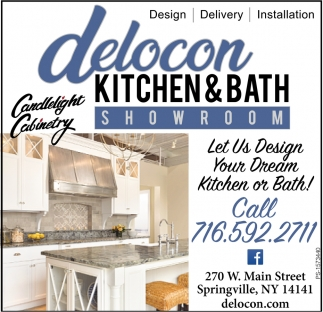 Let Us Design Your Dream Kitchen Or Bath!
