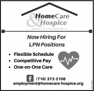 Now Hiring For LPN Positions