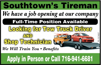 Full-Time Positions Available