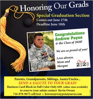Honoring Our Grads
