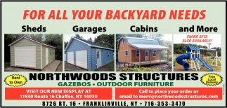 For All Your Backyard Needs