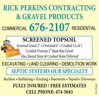 Screened Topsoil